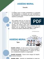 AULA - POLÍTICAS DE PREVENÇÃO DO ASSÉDIO MORAL