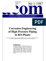 Acom87_1 Corrosion Engineering of High Pressure Piping in RO-Plants