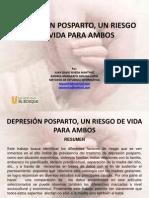 Depresión posparto, un riesgo de vida para
