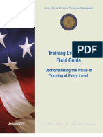 Field Guide to Training Evaluation