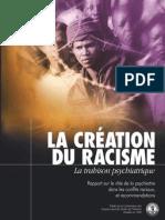 Creation Du Racisme La Trahison Psychiatrique