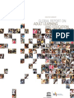 Global Report on Adult Learning and Education