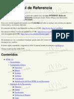 HTML Manual de Referencia