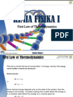 04 First Law of Thermodynamics