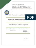 Final Report Thermal