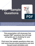 PMP Sample Questions Set 2
