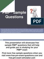 PMP Sample Questions Set 2