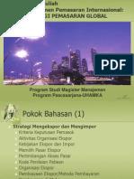 Strategi Pemasaran Global 2