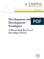 Development and Development Paradigms