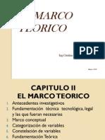 2 El Marco Teorico