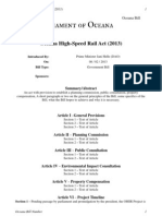 OB-56 - Oceana High-Speed Rail Act (2013)