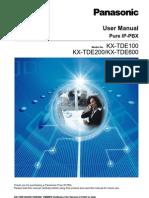 Kx Tde600 Manual