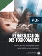 Rehabilitation Des Toxicomanes