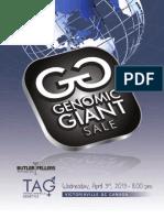 Sale Catalog - Genomic Giant Sale