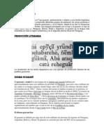 Forma de Escritura Guarani