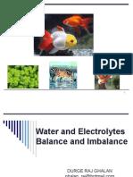 phathophysiology2(Water and Electrolytes balance and imbalance)