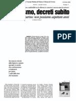 Riformismo e federalismo nel governo della città