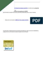 Resolución de la convocatoria 2012 - Premios a Materiales Educativos INTEF