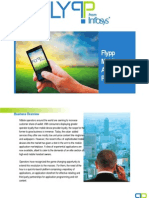 Infosys Flypp - Mobile Application Portfolio Development & Solutions