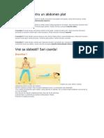 5 Exercitii Pentru Un Abdomen Plat Si 5 Cu Coarda