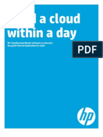 Build a Cloud in a Day