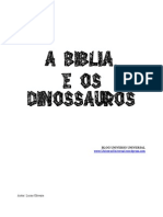 A Biblia e Os Dinossauros