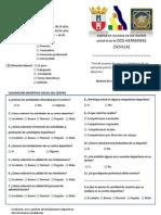 Test Evolucion Uso y Gestion Instalaciones Deportivas PDF