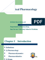 pharmacology1(Medical Pharmacology)
