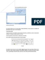 Edicion de Texto Word 2007