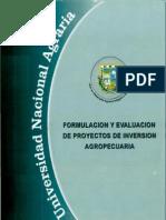Formulacion y Evaluacion de Proyectos Agropecuarios