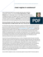 Libfile REPOSITORY Content LSE Review of Books August 2012 Week 1 Blogs.lse.Ac.uk-democracy the Best Regime in Existence