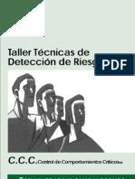 Taller de Tecnicas de Deteccion de Riesgos