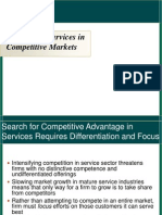Positioning of Services