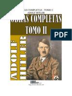 Obras Completas (Tomo II) - Adolf Hitler