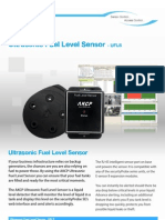 UFLS Ultrasonic Fuel Level Sensor