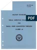 Visual Inspection Standards for Small Arms Ammunition Through Caliber .50 - USA - 1958
