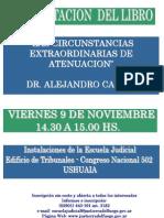 LAS CIRCUNSTANCIAS EXTRAORDINARIAS DE ATENUACION