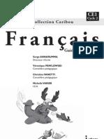 CARIBOU Français, guide pédagogique CE1