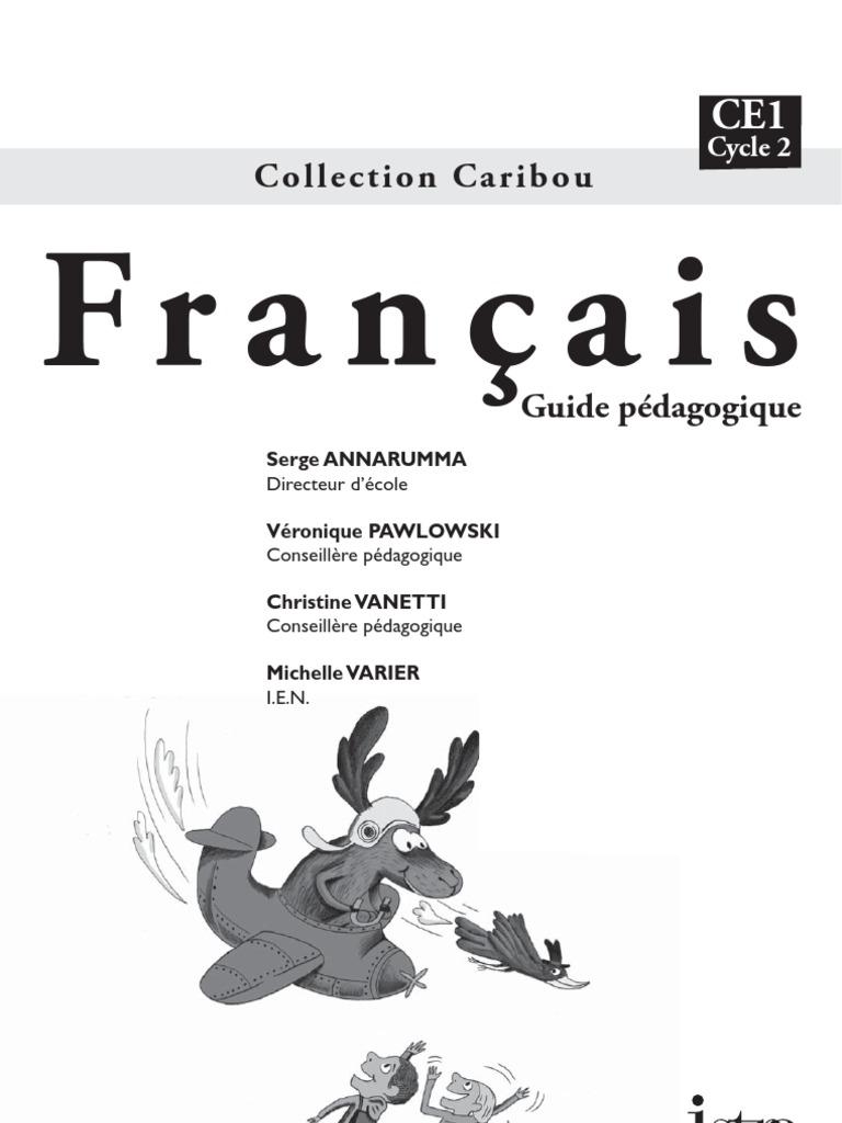 Caribou Francais Guide Pedagogique Ce1