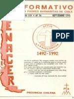 Renacer no. 56 - Septiembre -1992