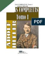 Obras Completas (Tomo I) - Adolf Hitler