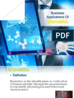 Business Applications of Biometrics