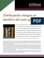 1 -Distribuyendo Sinergias en Beneficio Del Costo Operativo