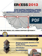 Liberalization of the Freight Market