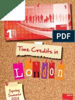 London Time Credits Menu Spring/Summer 2013 - Spice