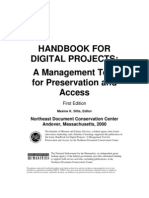 HANDBOOK FOR DIGITAL PROJECTS:A Management Toolfor Preservation andAccess