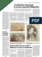 El Museo del Prado saca a la luz 17 dibujos de Goya tras su restauración