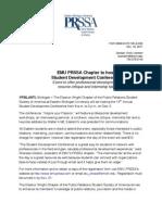 EMU PRSSA Press Releases 2011-2012
