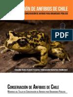 Libro Conservación de Anfibios en Chile