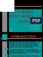 89608302 South Korea North Korea Conflict Ppt Recovered